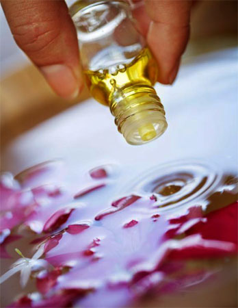 использование аромамасла